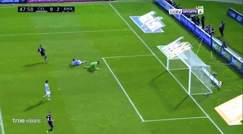 Celta Vigo 0-2 Real Madrid Ronaldo goal phút 48