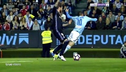 Celta Vigo 0-3 Real Madrid phút 63