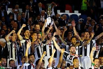 Vô địch Coppa Italia, Juventus mơ cú ăn ba