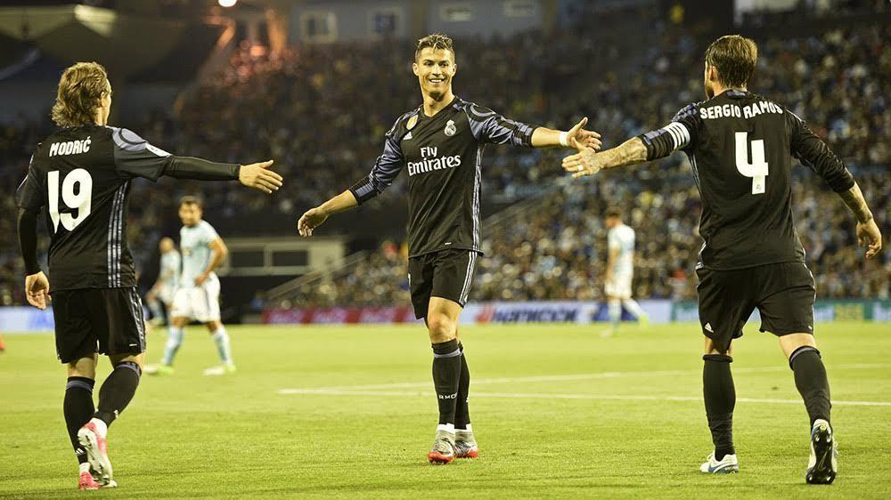 Real Madrid, Celta Vigo, La Liga, Ronaldo