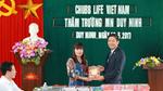 Chubb Life tài trợ 2,5 tỷ xây trường học ở Quảng Bình
