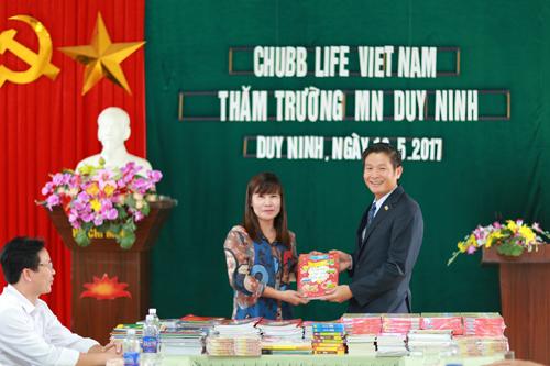 Chubb Life tài trợ 2,5 tỷ xây trường học ở Quảng Bình - ảnh 1