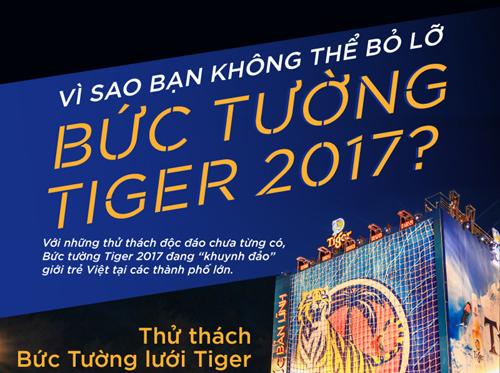Lý giải sức hấp dẫn của Bức tường Tiger 2017