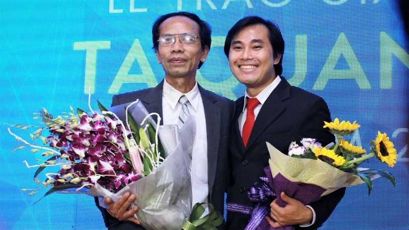 giải thưởng tạ quang bửu, bộ trưởng phùng xuân nhạ