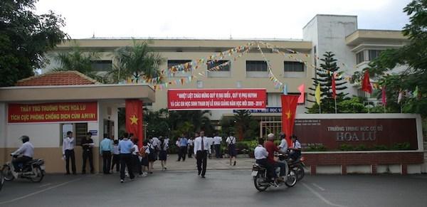 nhặt được của rơi, giáo viên, Trường THCS Hoa Lư, TP.HCM