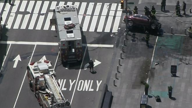 Kẻ lái 'xe điên' ở New York từng làm ở Hải quân Mỹ