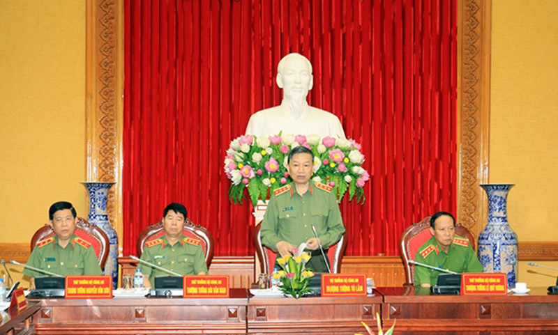 Bộ trưởng Tô Lâm, Tô Lâm, Bộ Công an, wannacry, mã độc tống tiền