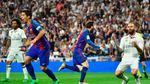 """La Liga vòng cuối: Barca """"làm loạn"""", lấy Cúp trong túi Real Madrid?"""