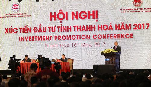 Xúc tiến đầu tư, thu hút đầu tư, thanh hóa, sầm sơn, nghi sơn, doanh nghiệp, cải cách kinh doanh, thủ tục hành chính, kinh tế tư nhân, môi trường kinh doanh