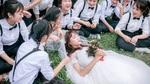 Ảnh kỷ yếu '37 chú rể, 1 cô dâu' gây sốt cộng đồng mạng