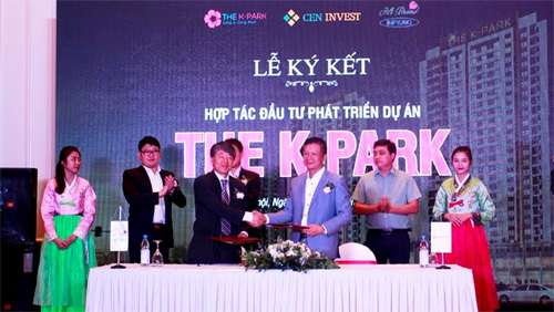 CenInvest 'bắt tay' Hi Brand Việt Nam phát triển The K - Park