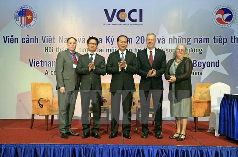 Chủ tịch nước Trần Đại Quang, Trần Đại Quang, quan hệ Việt Mỹ, Việt Nam-Hoa Kỳ