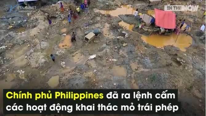 Chuyện khai thác vàng 'thừa sống thiếu chết' ở Philippines
