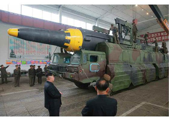 Triều Tiên, Mỹ, răn đe hạt nhân, tên lửa đạn đạo