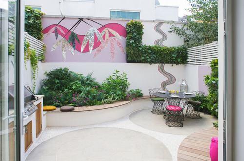 thiết kế nhà, nhà đẹp, ngôi nhà màu hồng