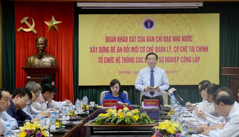 Phó Thủ tướng: Tự chủ nhưng đừng sắp về hưu thì tuyển một loạt