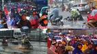 Sài Gòn ngập, đường phố kẹt cứng sau mưa lớn