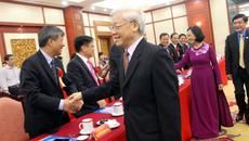 Tổng bí thư gặp mặt các đại biểu 'Vinh quang Việt Nam'