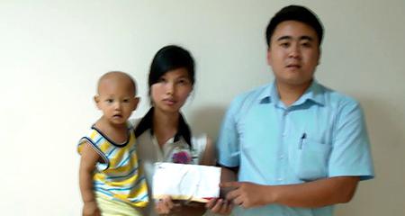 Hơn 25 triệu đồng đến với bé Phạm Nhật Anh ung thư tinh hoàn