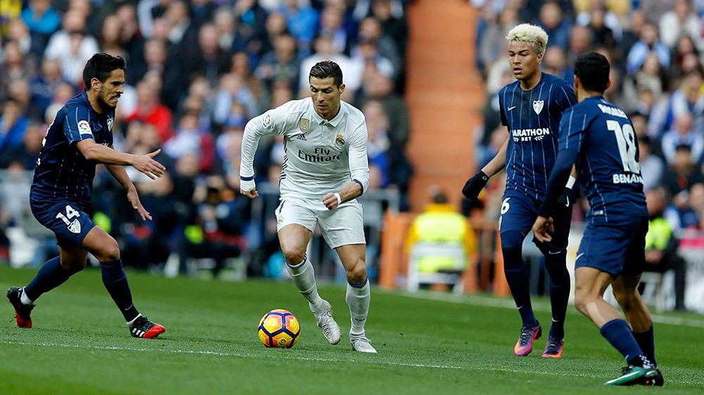 Malaga vs Real Madrid: Giây phút đăng quang