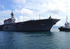 Hình ảnh tàu chiến lớn nhất của Nhật Bản tại cảng Cam Ranh