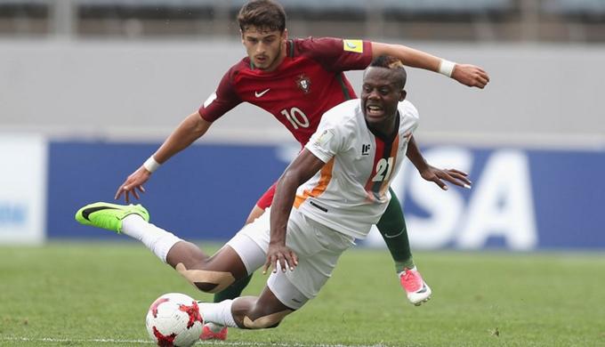 Đàn em Ronaldo thua đau trận ra quân U20 Thế giới