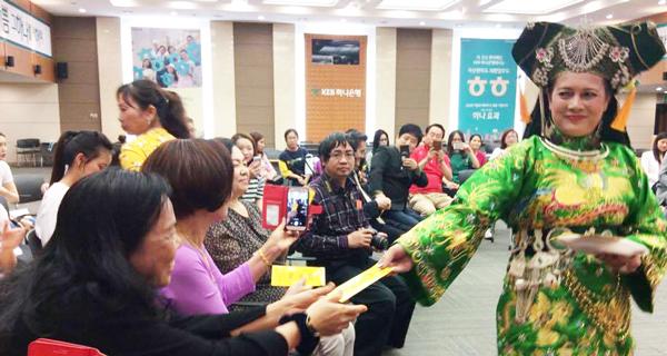 Quảng bá tín ngưỡng thờ Mẫu của Việt Nam tại Hàn Quốc