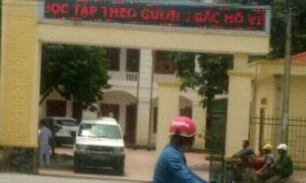 Sửa nhà huyện ủy, 1 người bị điện giật tử vong