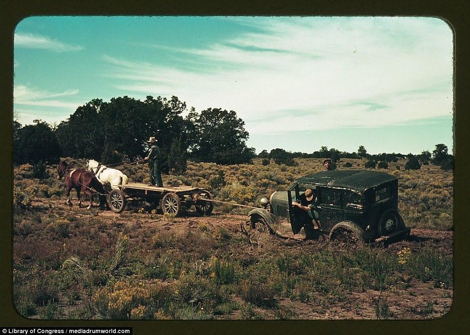 Cao bồi miền Tây, Mỹ, ảnh tư liệu, nhiếp ảnh gia
