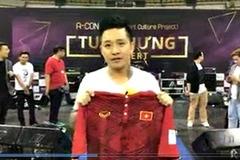 Ca sĩ Tuấn Hưng gửi lời chúc đặc biệt đến U20 Việt Nam