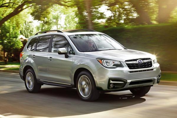 10 SUV/crossover tiết kiệm nhiên liệu nhất 2017