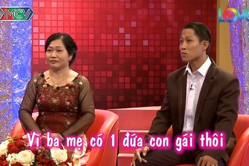 MC ngỡ ngàng khi con rể cùng mẹ vợ tham dự 'Mẹ chồng, nàng dâu'