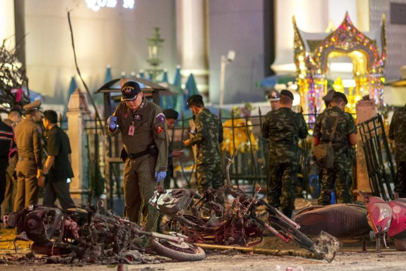 đánh bom, Bangkok, bệnh viện, quân đội