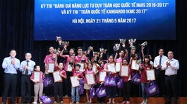 Học sinh Việt giành giải toán học quốc tế