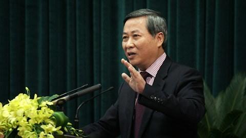 Đề nghị khởi tố nguyên Phó chủ tịch Hà Nội Phí Thái Bình
