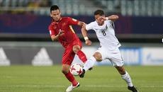 U20 Việt Nam bị New Zealand cầm hòa trận ra quân U20 Thế giới