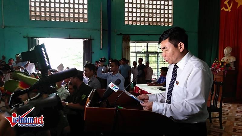 Hàn Đức Long, án oan, án oan Bắc Giang