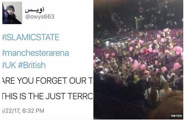 Nhà nước Hồi giáo, IS, tấn công khủng bố, Manchester