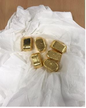 buôn lậu vàng, vàng lậu, vàng miếng, hải quan