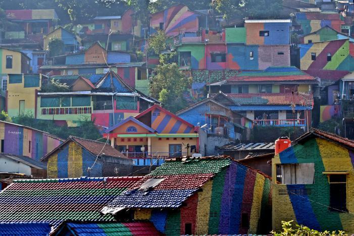 Khu ổ chuột 'lột xác' thành điểm du lịch hút khách