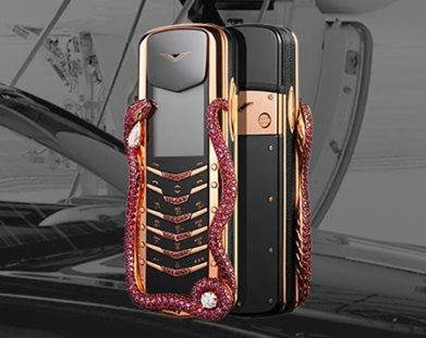 điện thoại Vertu, dát vàng, đại gia