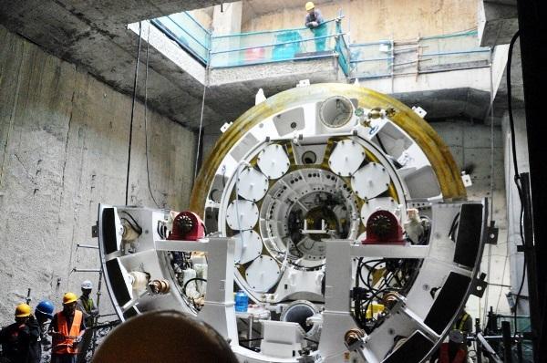 'Quái vật' sắp xuyên lòng đất, đào hầm metro ở Sài Gòn