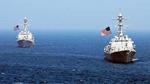 Tàu chiến Mỹ di chuyển sát đảo nhân tạo TQ trên Biển Đông