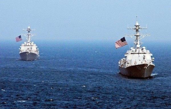 Tàu chiến Mỹ, Trường Sa, Biển Đông