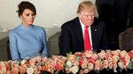 Những khoảnh khắc khó hiểu của vợ chồng ông Trump