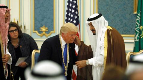 Công du Trung Đông, Tổng thống Trump cài đặt lại chính sách của Mỹ