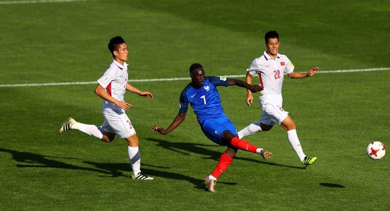 U20 Việt Nam, U20 Pháp, HLV Hoàng Anh Tuấn, U20 World Cup 2017, trực tiếp bóng đá