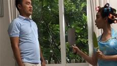 Diễn viên Thu Trang hiếu chiến cầm dao dọa chồng