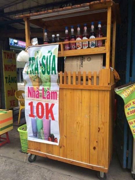 Coi chừng mang họa vì bán trà sữa hoá chất