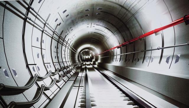 'Quái vật' chính thức xuyên lòng đất, đào hầm metro ở Sài Gòn